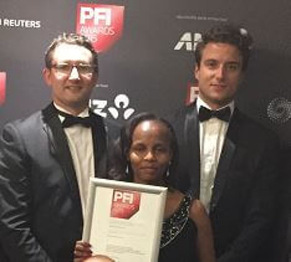 Mainstream Consortium wins Best Wind Deal – Middle East and Africa at PFI Awards in London