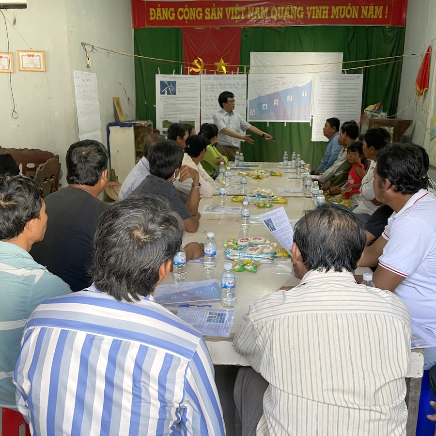 Communities developing opportunities around Soc Trang Wind Farm