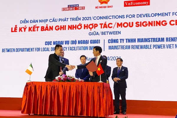 Mainstream and Vietnam sign agreement for capacity building event