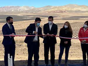 Mainstream Renewable Power inaugurates the first of its ten projects under construction in Chile