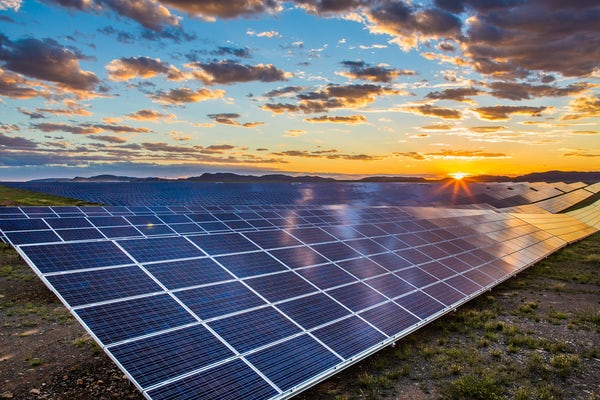 Environmental approval for 123MWp solar farm