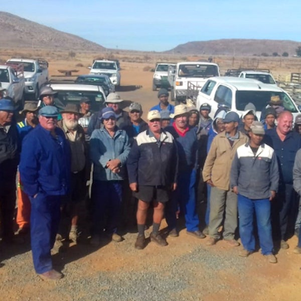 Wind farm provides drought relief for farmers