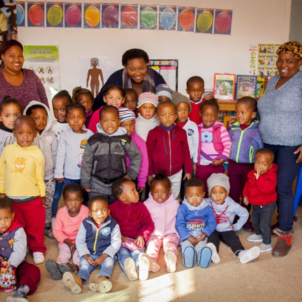 Wind farm-funded initiative improves pre-school standards in Northern Cape