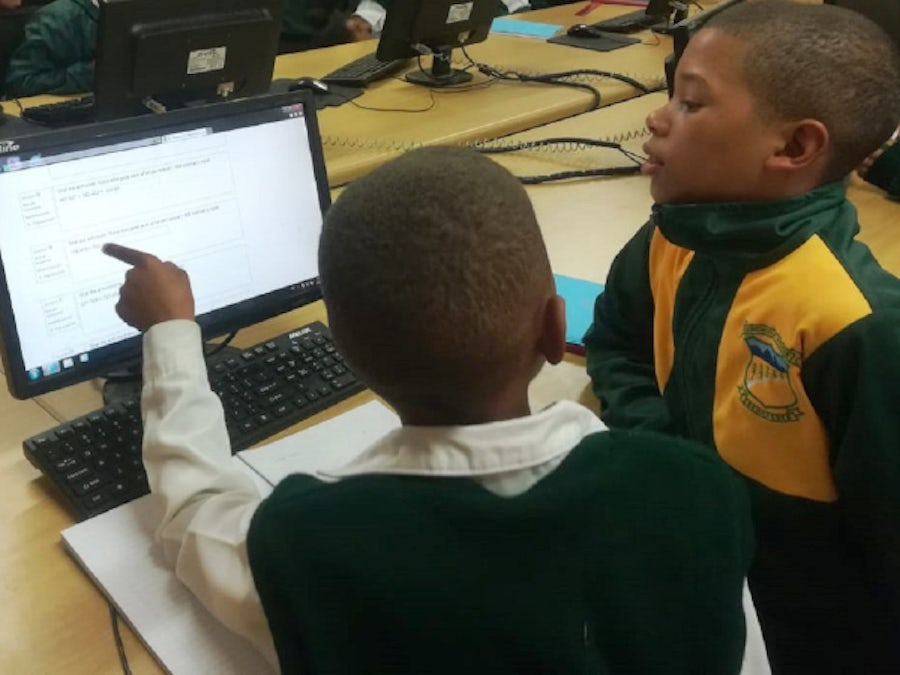 Online maths adds up to a win for primary school pupils