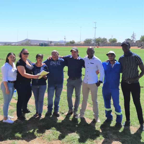 Wind farms create sustainable Field of Dreams for Loeriesfontein youth