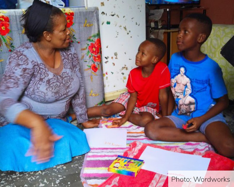 Early years literacy training empowers Loeriesfontein parents