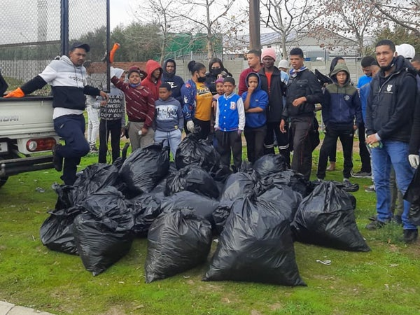 Young turn out in hundreds for big Clean-Up of their communities