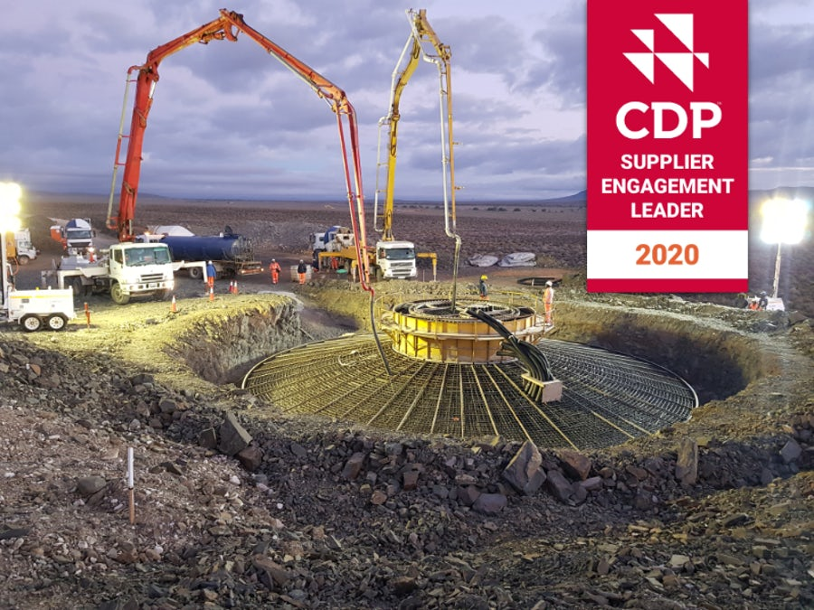 Mainstream awarded CDP Leader status for supplier emissions engagement
