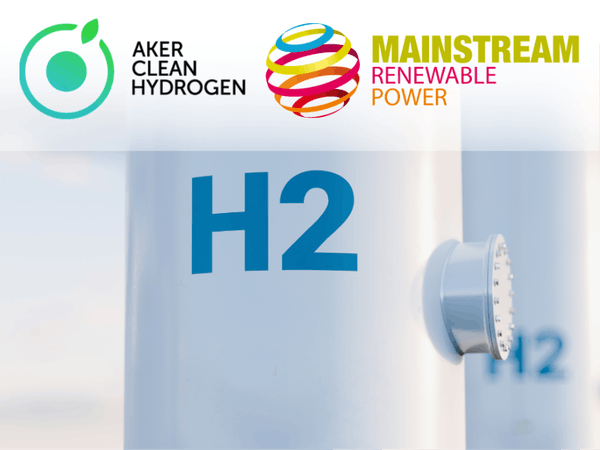 Mainstream and Aker Clean Hydrogen to collaborate on green hydrogen and low-cost ammonia in Chile