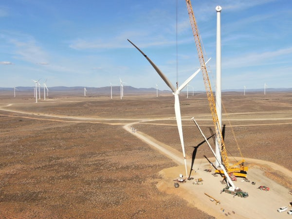 Final Perdekraal East turbine in place ahead of schedule