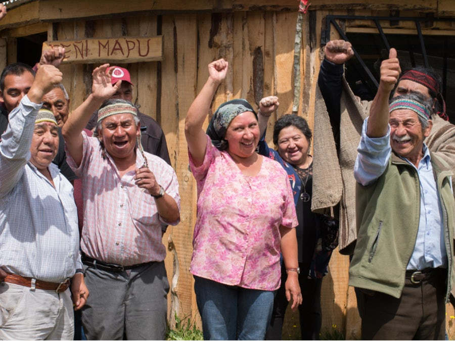 Mapuche community builds 'Ruka' social centre with wind farm support
