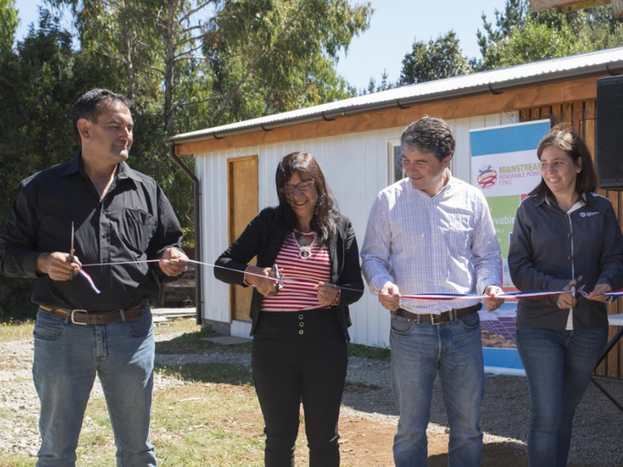 Clubhouse upgrade to encourage sport in Los Ríos community