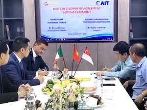 Agreement with AIT to co-develop 500 MW offshore wind project