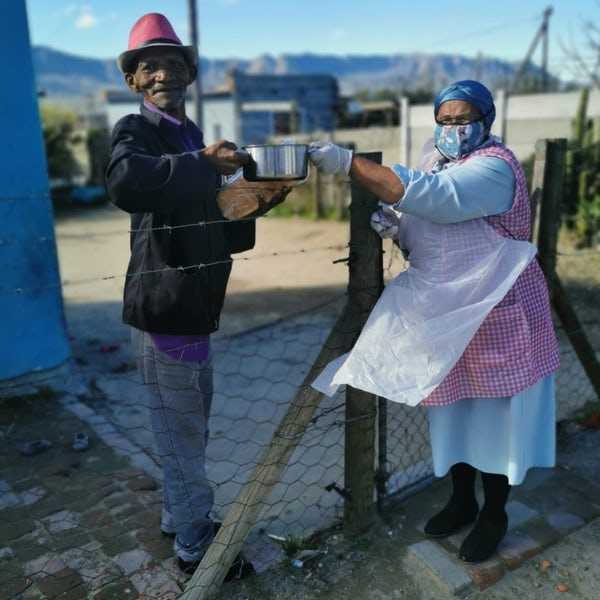 Wind farm-funded daily meals provide 'hope and dignity'