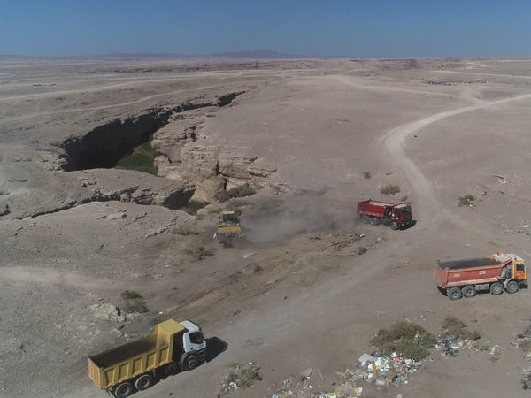 Clean-up to save oasis of biodiversity in Antofagasta desert