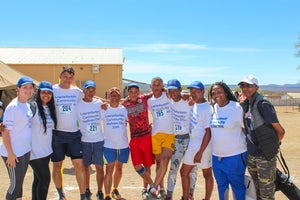 Loeriesfontein and Khobab wind farms host community wellness day