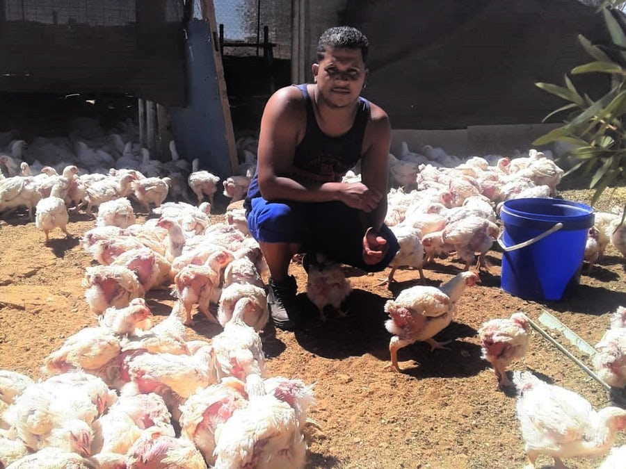 Poultry farmer hatches growth plan through 'ChangeMakers' seed fund