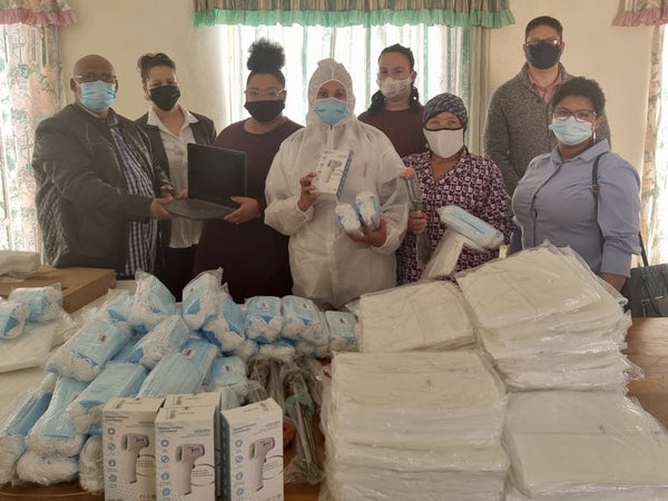 Covid PPE delivery for elderly and carers honours Mandela spirit